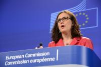 Press conference by Cecilia Malmström, Member of the EC, on the EU Civil Society Platform against Trafficking in human beings
