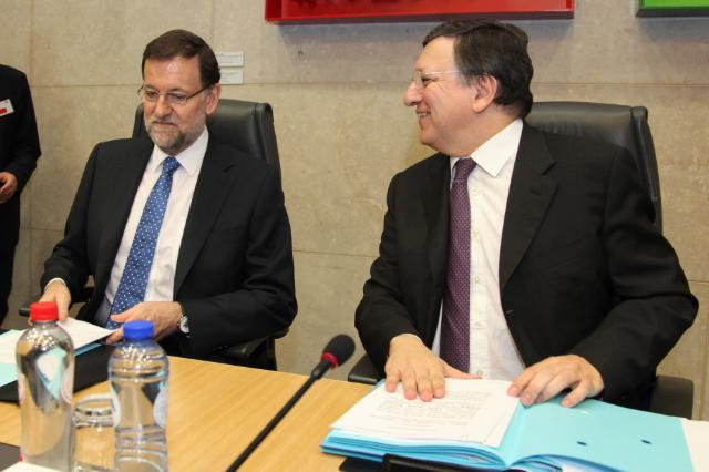 Visit of Mariano Rajoy Brey, Spanish Prime Minister, to the EC