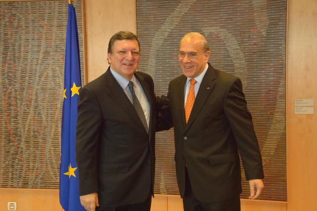 Visit of Angel Gurría, Secretary General of OECD, to the EC