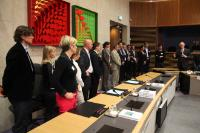 Visit of a delegation from the IOC to the EC