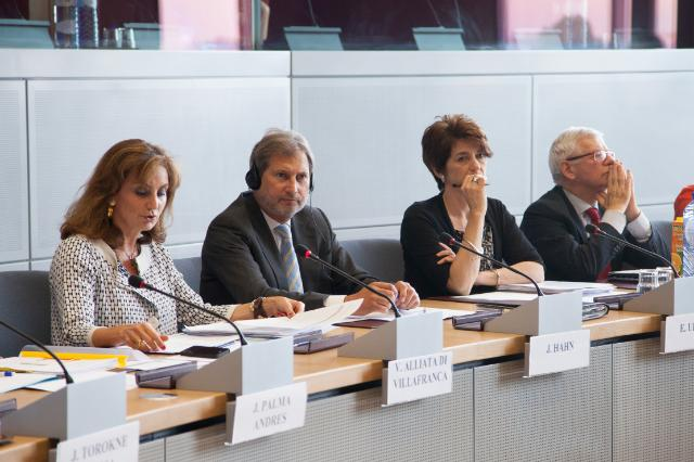 Visit of the Presidents and Vice-Presidents of the Outermost Regions to the EC