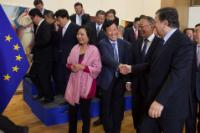 Visit of a delegation from the China Entrepreneur Club to the EC