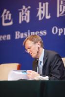 Visite d'Antonio Tajani, vice-président de la CE, et Janez Potočnik, membre de la CE, en Chine