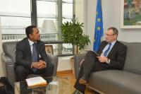 Visit of Tearii Alpha, Minister for Marine Resources of the Government of the French Polynesia, to the EC