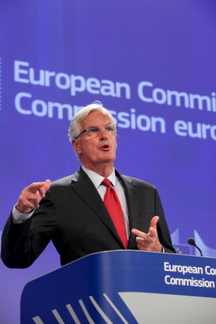 Press conference by Michel Barnier, Member of the EC, on the communication on shadow banking