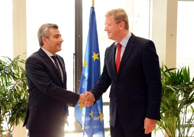 Visit of Rami Mortada, Head of the Mission Lebanon to the EU, to the EC