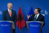 Visit of Edi Rama, Albanian Prime Minister, to the EC