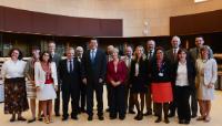 Cérémonie de remise des prix 'Green Commission EMAS' 2013, avec la participation de Maroš Šefčovič, vice-président de la CE
