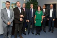 Visit of representatives from the Canarian Confederation of Industrialists to the EC