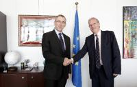 Visit of Xavier Michel, Head of the Mission of the International OIF to the EU, to the EC