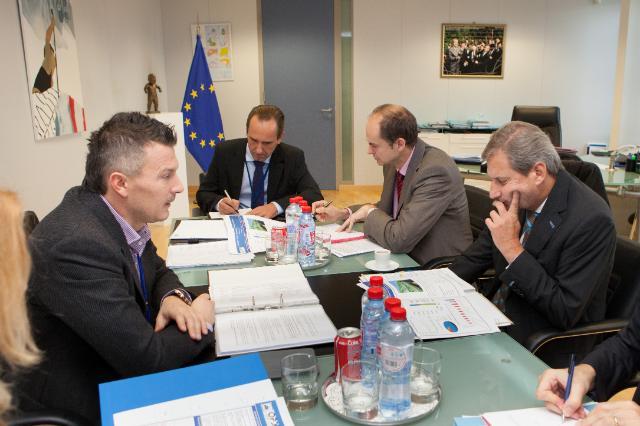 Visit of Ján Počiatek, Slovak Minister for Transport, Construction and Regional Development, to the EC