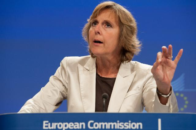 Press conference by Connie Hedegaard, Member of the EC, on the ratification of the second commitment period 2013-2020 of the Kyoto Protocol on climate change, and on the United Nations climate change conference in Warsaw