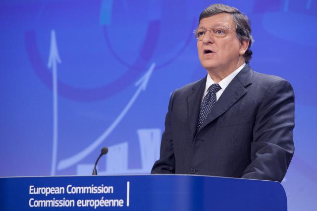 Joint press conference by José Manuel Barroso, President of the EC, Olli Rehn, Vice-President of the EC, and László Andor, Member of the EC, on the European Semester 2014