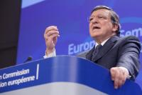 Conférence de presse conjointe de José Manuel Barroso, président de la CE, Olli Rehn, vice-président de la CE, et László Andor, membre de la CE, sur le Semestre européen 2014
