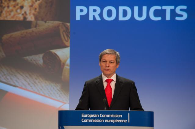 Press conference by Dacian Cioloş, Member of the EC, on the draft reform of the information and promotion policy for European agricultural and food products