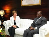 Visit of Kristalina Georgieva, Member of the EC, to Côte d'Ivoire