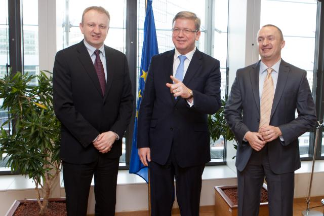 Visit of Dragan Đilas, President of the Serbian Democratic Party, to the EC