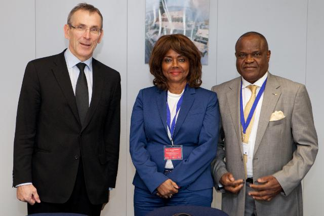 Visit of Pedro Luís da Fonseca, Angolan Secretary of State for Planning and Territorial Development, to the EC