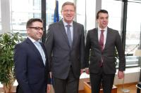 Visit of Nikola Poposki, Minister for Foreign Affairs of the former Yugoslav Republic of Macedonia, and Fatmir Besimi, Deputy Prime Minister for European Affairs of the former Yugoslav Republic of Macedonia, to the EC