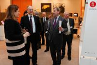 Opening of the exhibition 'Sensational Umbria' on the Umbria region, with the participation of Johannes Hahn, Member of the EC
