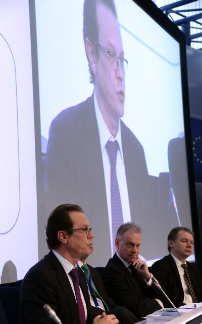 Participation of Joaquín Almunia, Vice-President of the EC, and Algirdas Šemeta, Member of the EC, in the European Competition Forum 2014