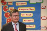 Visit of László Andor, Member of the EC, to the United Kingdom