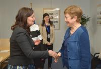 Visit of Daniela Bobeva, Bulgarian Deputy Prime Minister in charge of Economic Development, to the EC