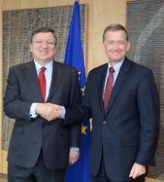 Visit of Anders Ahnlid, Permanent Representative of Sweden to the EU, to the EC