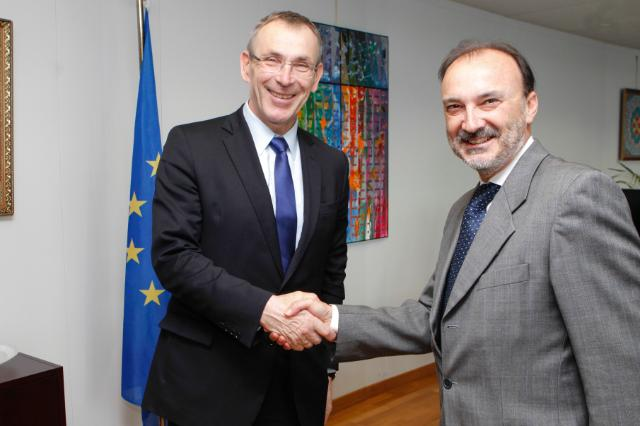 Visit of Jesús García Aldaz, Spanish Secretary of State for International Cooperation and Ibero-America, to the EC