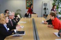 Visit of Patroklos Georgiadis, Secretary General of the Hellenic Ministry of Public Order and Citizen Protection, to the EC