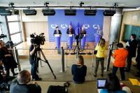 "Illustration of ""Joint press conference by Štefan Füle, Member of the EC, Ramón Luis Valcárcel Siso, President of the CoR,..."