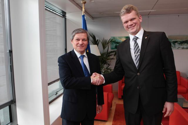 Visit of Ihor Shvaika, Ukrainian Minister for Agrarian Policy and Food, to the EC
