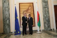 Visit of Andris Piebalgs, Member of the EC, to Madagascar