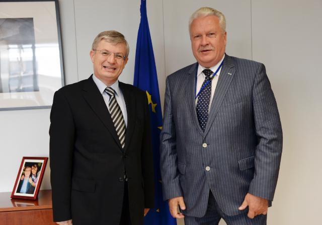 Visit of Jānis Dūklavs, Latvian Minister for Agriculture, to the C