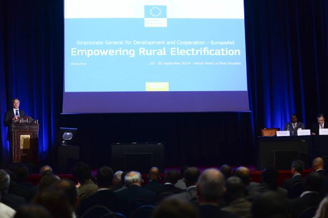 Opening of the Rural Electrification Conference organised by the DG DEVCO of the EC