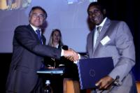 """Illustration of """"Opening of the Rural Electrification Conference organised by the DG DEVCO of the EC"""""""