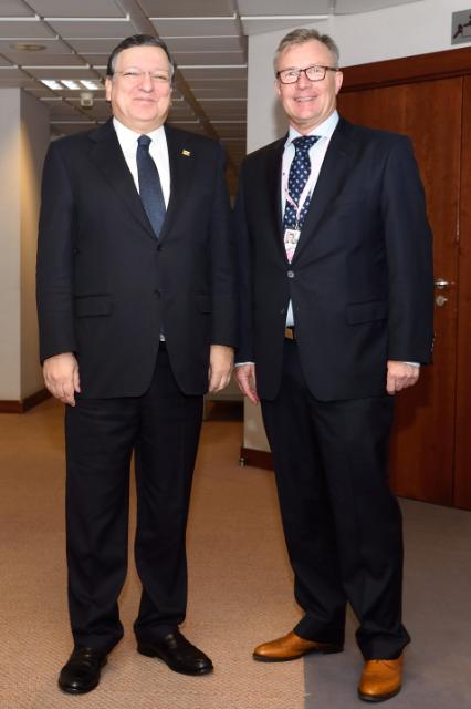 Meeting between Hans-Joachim Reck, President of the European Centre of Employers and Enterprises providing Public services, and José Manuel Barroso, President of the EC
