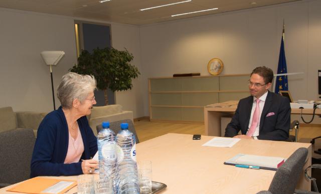 Visit of Bernadette Ségol, General Secretary of the ETUC, to the EC