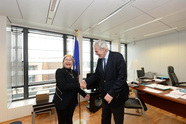 Visit of Jemilah Mahmood, Chief of the WHS Secretariat, to the EC