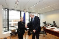 Visit of Jemilah Mahmood, Chief of the WHS Secretariat, to the EC