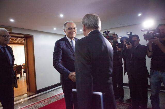 Visit by Johannes Hahn to Rabat
