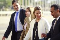 Nazar Al-Kheer Allah, Federica Mogherini and Jana Hybášková (from right to left)