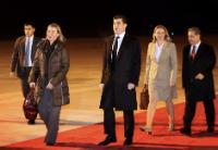 Falah Mustafa Bakir, Minister, Head of the Department of Foreign Relations of the Kurdistan Regional Government (KRG), Jana Hybášková, Nechirvan Barzani and Federica Mogherini (from right to left)