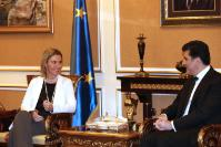 "Illustration of ""Visit of Federica Mogherini, Vice-President of the EC, to Iraq"""