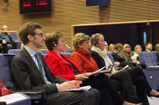 Participation of Kristalina Georgieva, Vice-President of the EC, in the annual ceremony for the presentation of Humanitarian projects funded by the Association 'Femmes d'Europe'