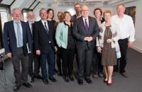 """Illustration of """"Visite de Frans Timmermans, premier vice-président de la CE, au Danemark"""""""