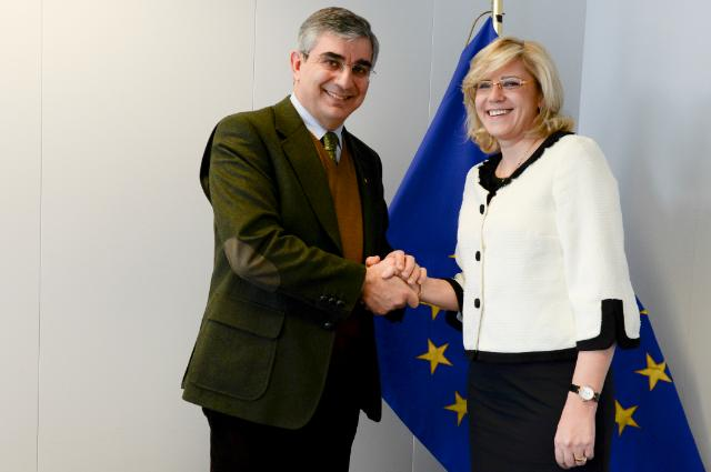Visit of Luciano D'Alfonso, President of the Abruzzo Region, to the EC