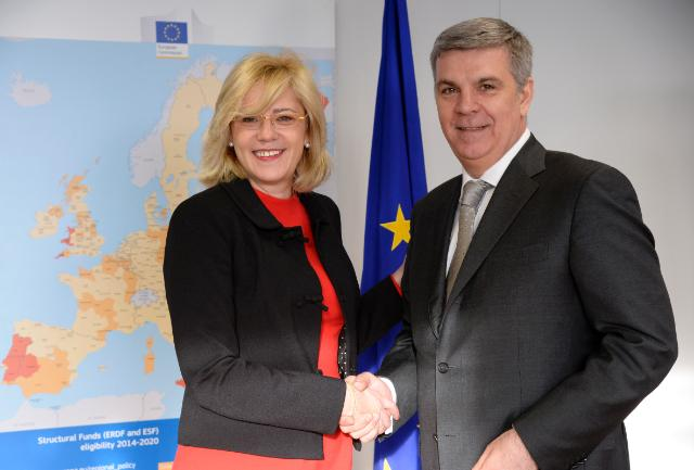 Visit of Valeriu Zgonea, President of the Romanian Chamber of Deputies, to the EC
