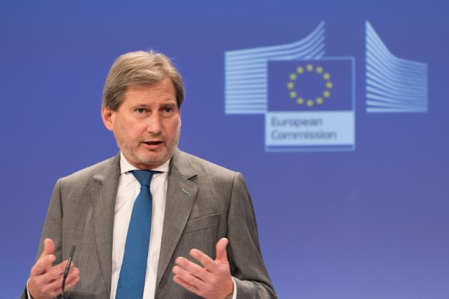 Press conference by Johannes Hahn, Member of the EC, following his visit to Ukraine and the Western Balkans
