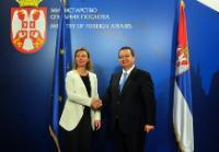 Visit of Federica Mogherini, Vice-President of the EC, to Serbia